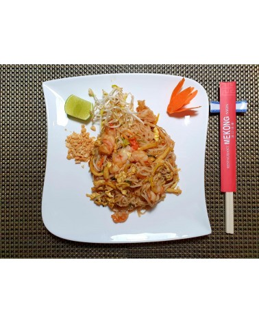 Pad Thai (poulet et gambas)