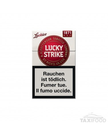 Lucky Strike rouge