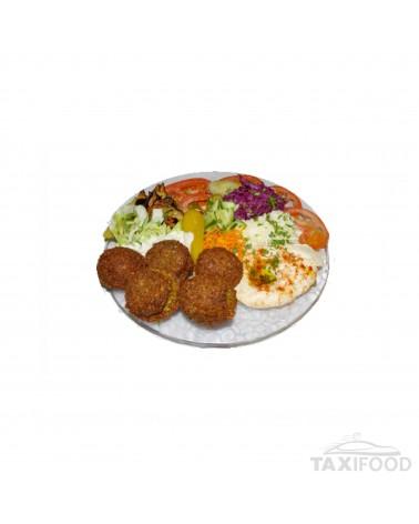 Assiette Falafel