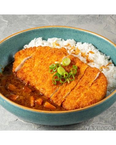 Poulet Katsu (Pané), sauce...