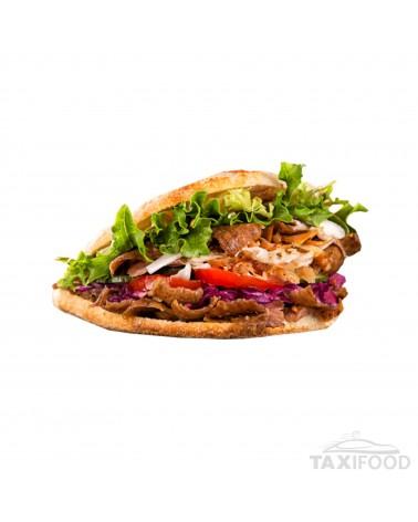 Sandwich Kebab Frites