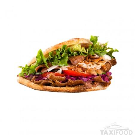 Kebab Cheese Sandwich