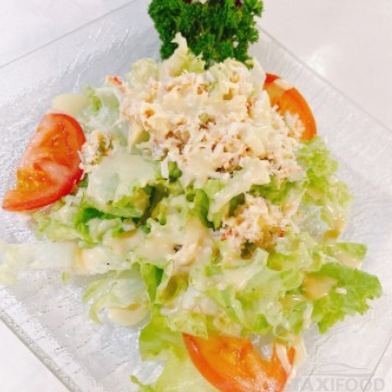 Salade chinoise aux crabes