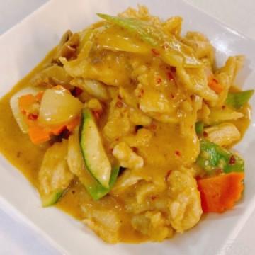Poulet au curry (Jaune)
