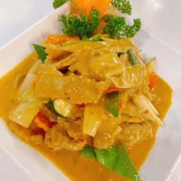 Porc au curry (Jaune)