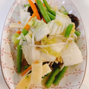 Légumes sautés assorties
