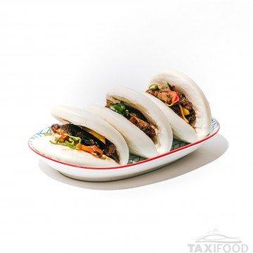 Bao Bun Canard Sauté 3 pièces