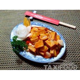 Tofu sauce aigre-douce